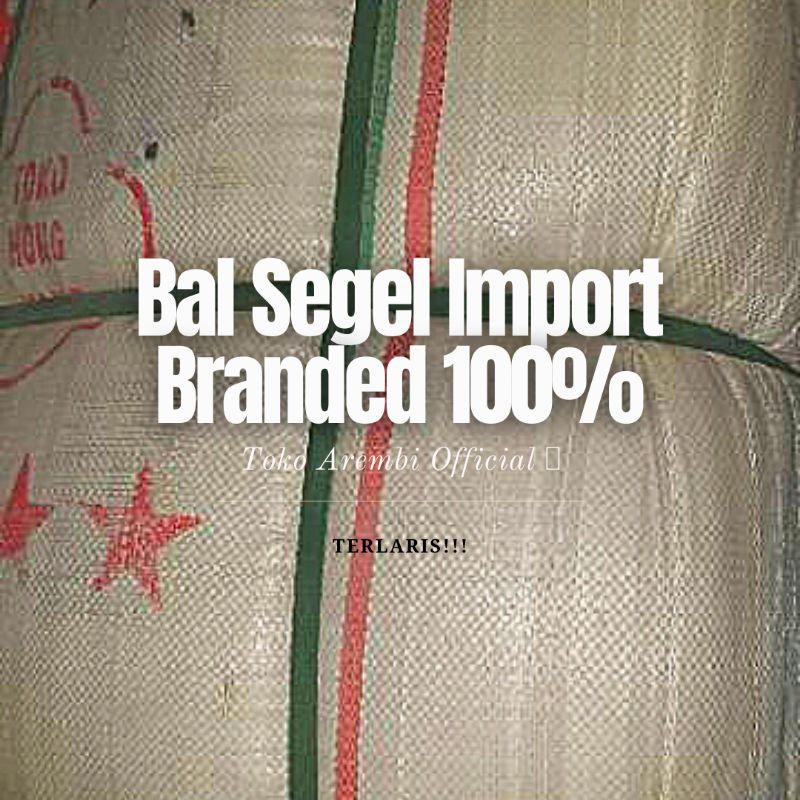 Bal import segel kode 167, Jaket outdoor bermerk. Branded + Bersih dan Bagus!