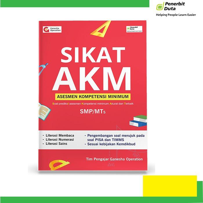 Buku Sikat Akm Asesmen Kompetensi Minimum Untuk Smp Shopee Indonesia