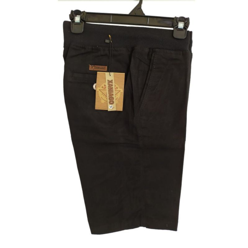 Celana Chino Pendek Pria Rip Kolor Pinggang Karet Xaniago Polos Ori Shortpants Atas Lu Tut Cowok Pria Shopee Indonesia
