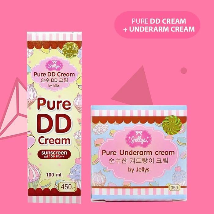 Unik DD CREAM UNDERARM Paket DD CREAM UNDERARM Jellys Pure Thailand Diskon | Shopee Indonesia