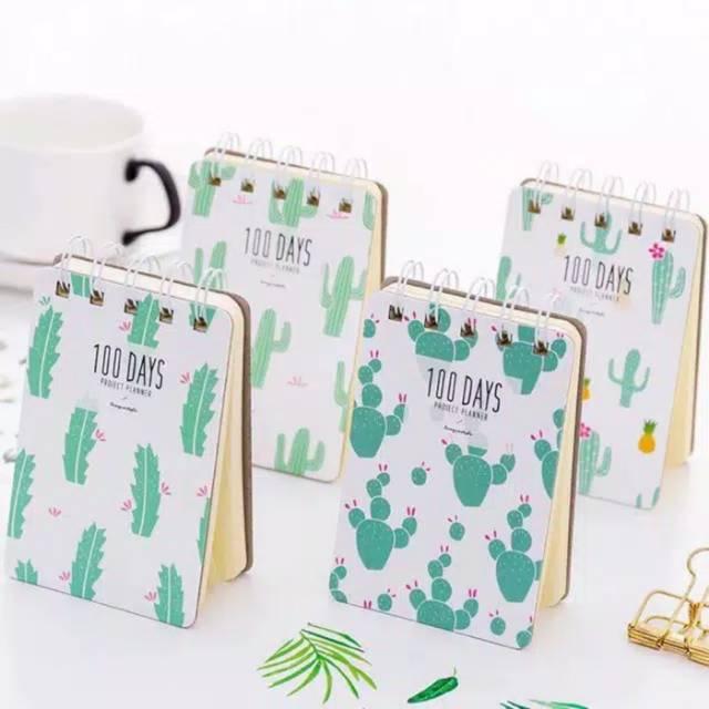Notebook Buku Memo Kaktus Mini