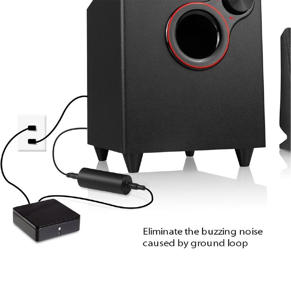 Noise Isolator Ground Loop dengan Kabel Audio 3.5mm untuk Sistem Audio Mobil | Shopee Indonesia