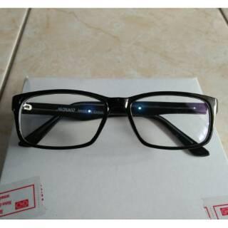 Kacamata anti radiasi handphone dan komputer persegi hitam trendy gaya  fashion korea d8b915677a