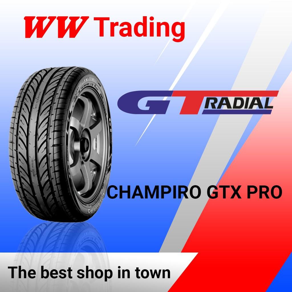 BAN GT RADIAL CHAMPIRO GTX PRO 235/60 R16/ 235 60 16