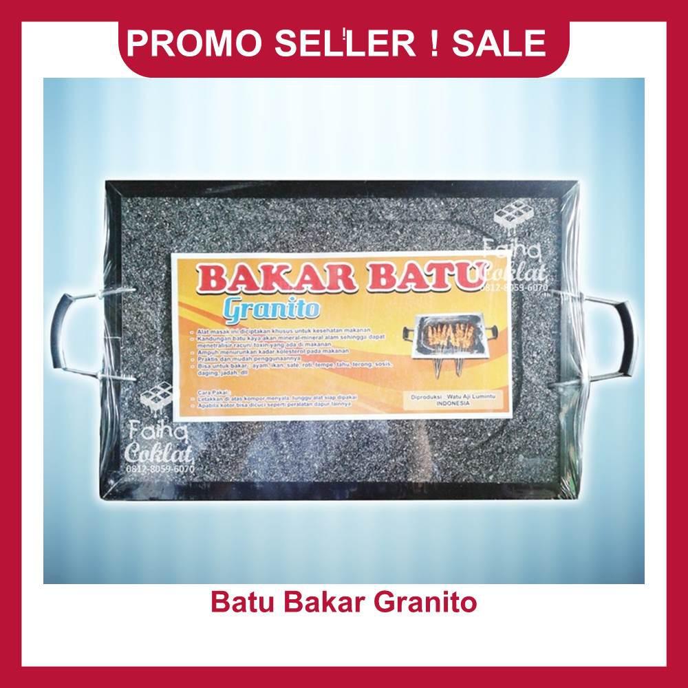 (GARANSI HARGA TERMURAH SHOPEE) BAKAR BATU GRANITO / ALAT PANGGANG GRANITO | Shopee Indonesia