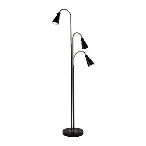 IKEA NOT Lampu lantai sorot atas/ lampu baca, hitam, putih | Shopee Indonesia