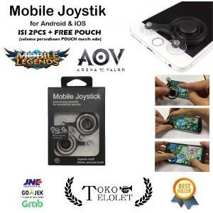Joystick Mobile Gamepad Fling Mini Joystick Gaming Mobile Legend 2 pcs | Shopee Indonesia