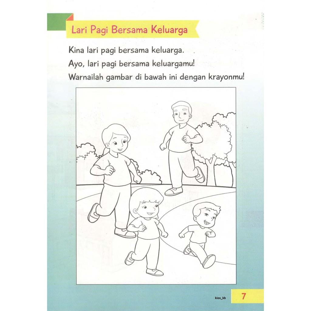 Buku Aktivitas Tema KELUARGAKU K 2013 TK PAUD 5 6 Tahun