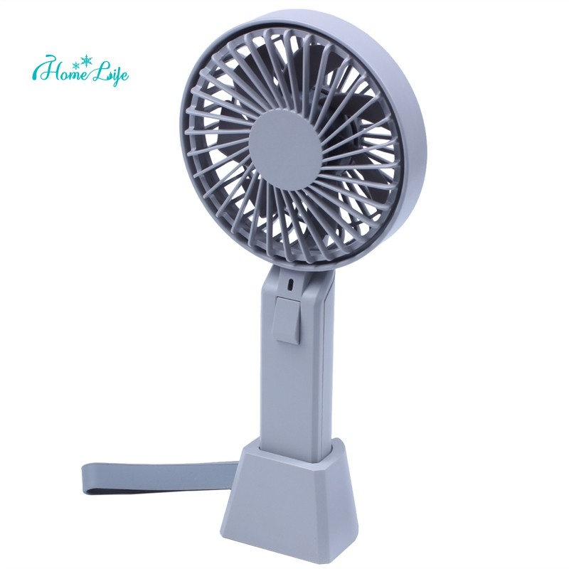 Color : White 01 Office USB Fans Handheld USB Fan Mute 3 Wind Speed 5-Leaf Mini Personal Fan Outdoor Portable Charging Electric Fan for Home Outdoor Travel