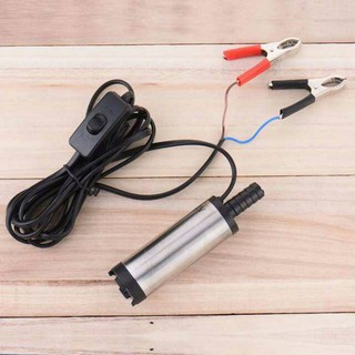 Pompa Air Celup Mini Kecil Portable 12V Diesel Pump Mini ...