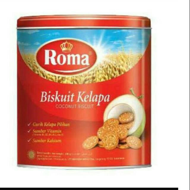 Harus Coba Roma Biskuit Kelapa | Coconut Biscuit | Kue Kaleng - Catarina Citra Shop |
