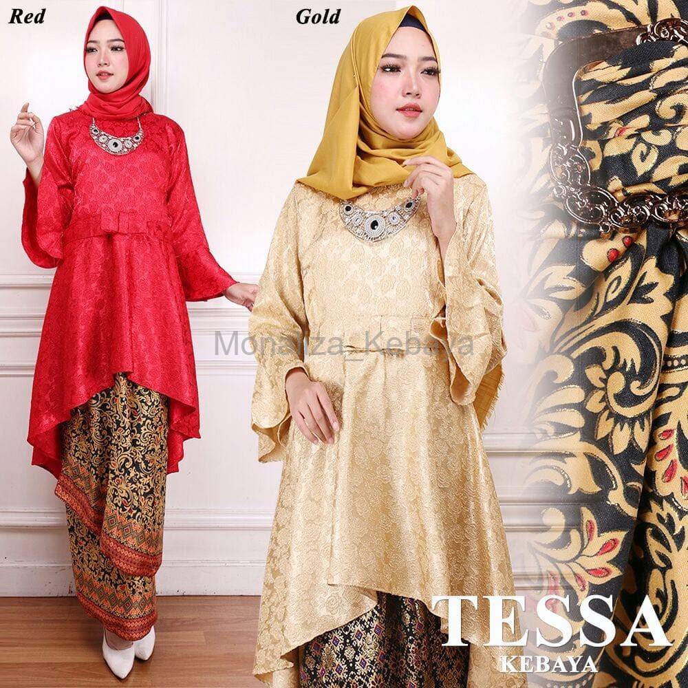 Dapatkan Harga pesta wanita Pakaian Wanita Fashion Muslim Batik   Kebaya  Diskon  36ede091c4
