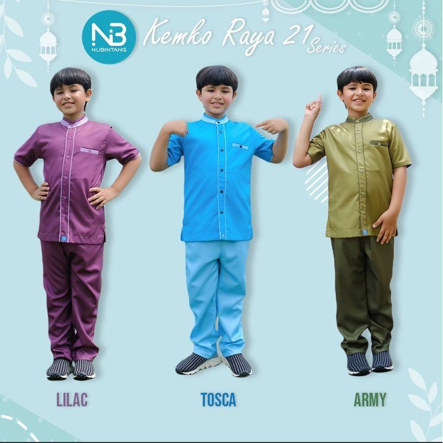Koko Anak Raya21 Set Celana by Nubintang