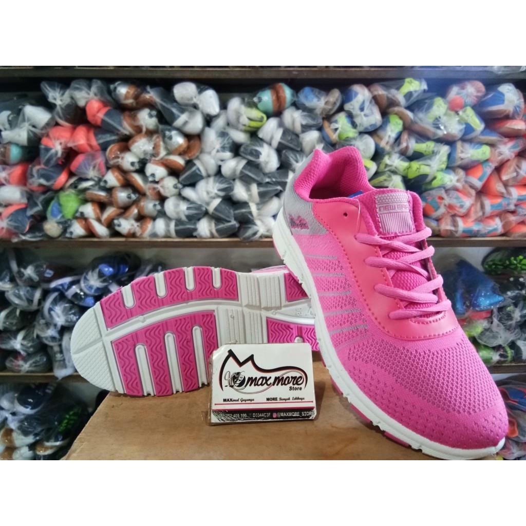 Sepatu Wanita Olahraga Ardiles Wijima Grey Fuxia Ardiles Women Astrid Running Shoes Sepatu Olahraga Wanita Hitam