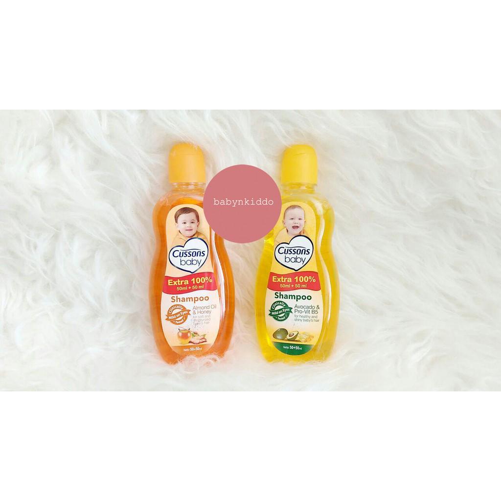 Daftar Harga Shampoo Bayi Cussons Baby Coconut Oil Aloe Vera 100ml And 100 Ml 50ml Dan Shopee Indonesia