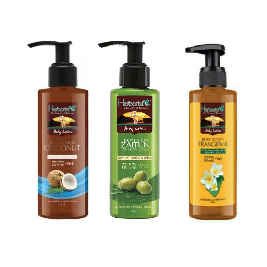 [BPOM] HERBORIST Zaitun Series - Body Wash / Shampoo / Lotion / Sabun Wajah / Minyak 75ml / 150ml-5