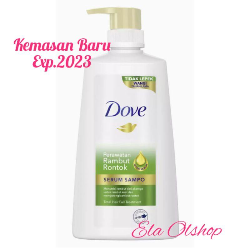 Shampoo Dove Total Hair Fall Treatment Nutritive Solutions Serum Shampoo 680 ml
