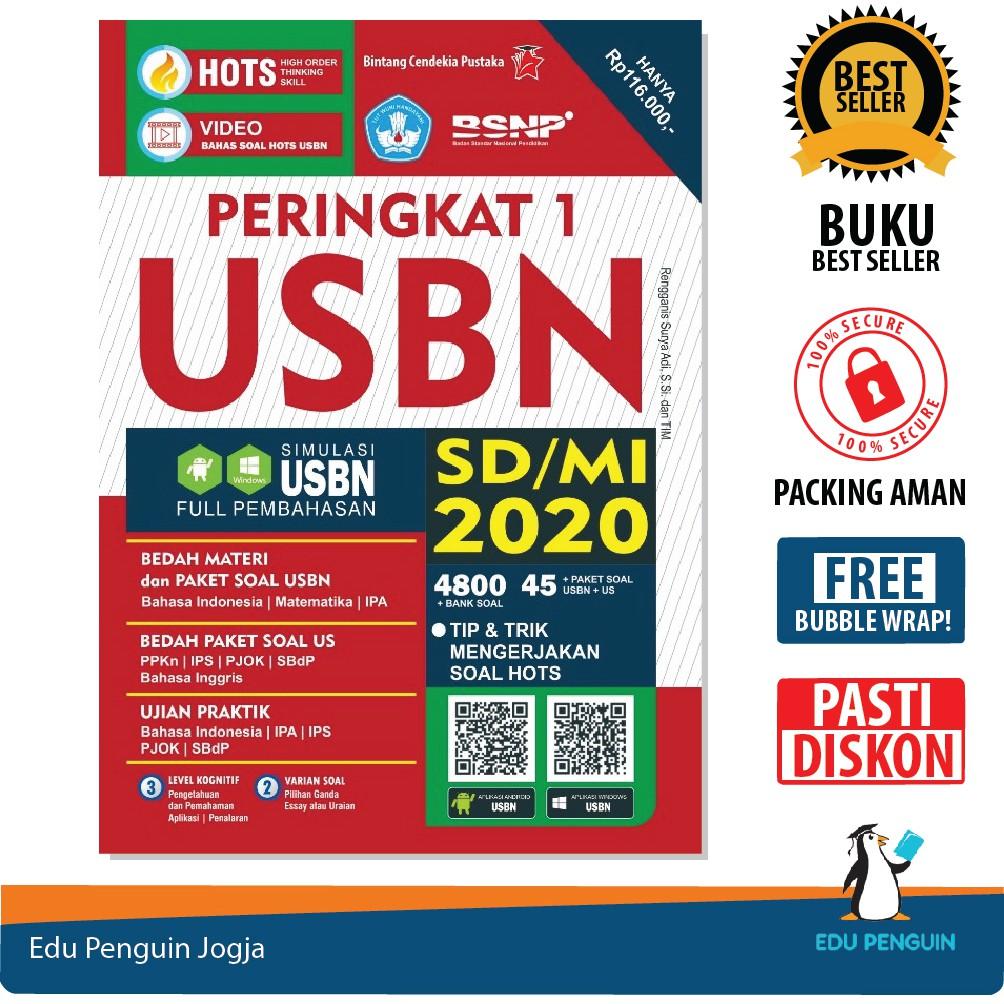 Buku Peringkat 1 Usbn Sd Mi Hots 2020 Kelas 6 Bubble Wrap Free Shopee Indonesia