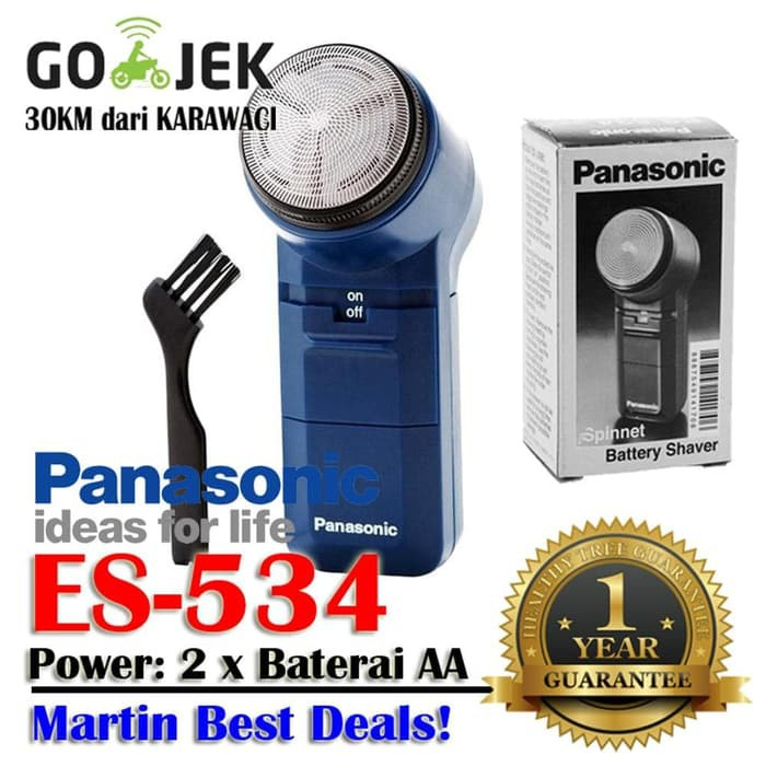 Mesin Cukur Kumis   Jenggot Elektrik Panasonic Shaver ES 534 ... c11a5391bb