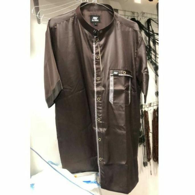 Baju koko alwafa   baju muslim pria   koko murah berkualitas   koko pendek alwafa