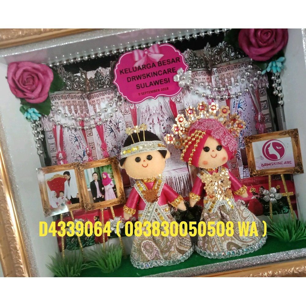 Frame Foto Bingkai 3d Tebal 4r Minimalis Shopee Indonesia Figura 10x15cm Hitam Putih