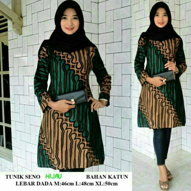 Download Baju Batik Wanita: Atasan Batik Wanita Seragam Guru TK PAUD