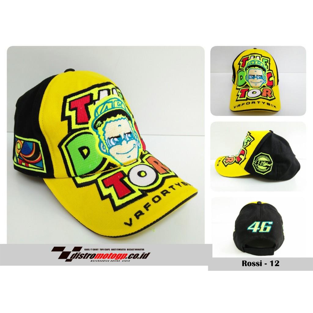Ready   Topi Distro MotoGP Rossi TP46-HF2 Terpercaya d2fd12346f