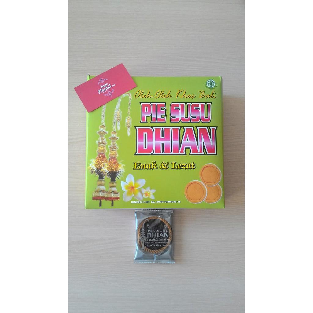 Pie Susu Dhian Original 10pcs Box Bali Enak Shopee Khas Indonesia