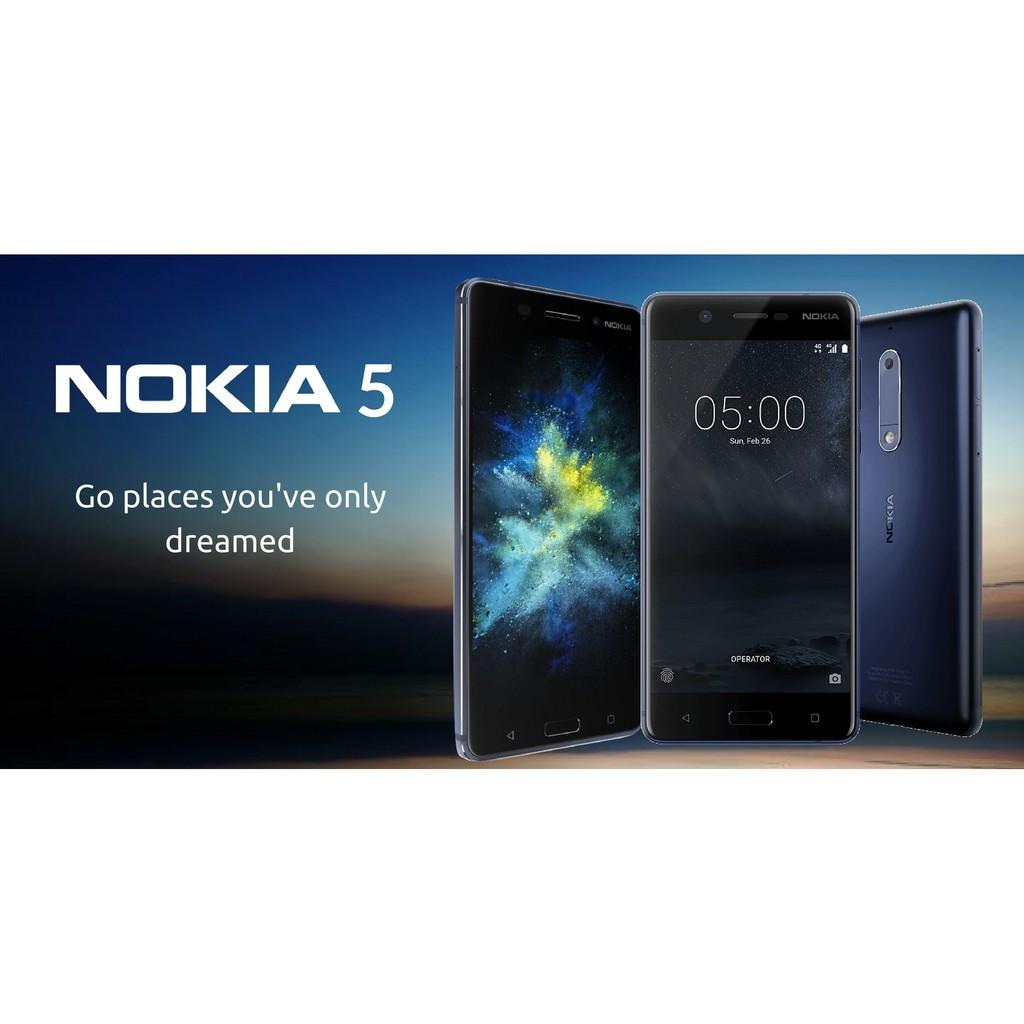 Nokia 5 Android 52 4g Lte Ram 3gb Rom 16gb Batt 3000 Mah Tempered Glass Warna Full Cover Garansi Resmi Shopee Indonesia