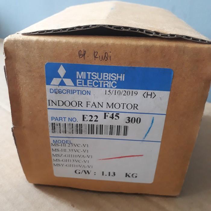 Fan Motor Indoor AC Mitsubishi Electric 1/2 ~ 1,5 PK