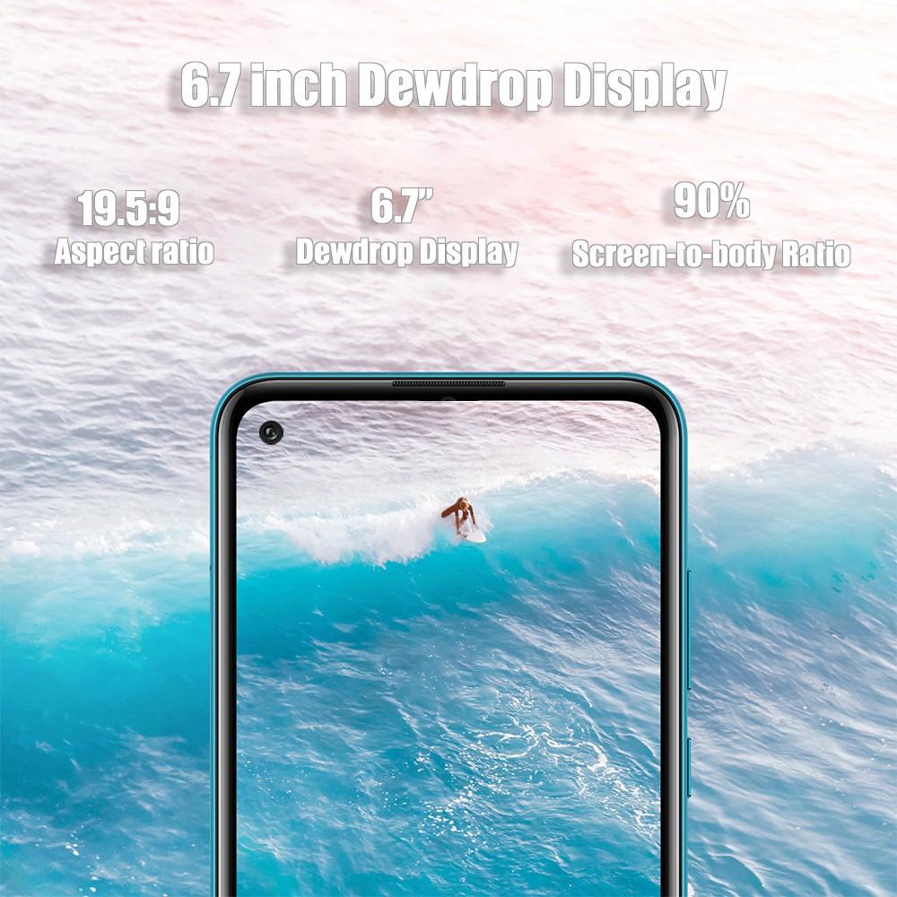 "HP Android Gome f15 Pro+  RAM 4GB & ROM 64GB Jaringan 4G Smartphone 6.7"""