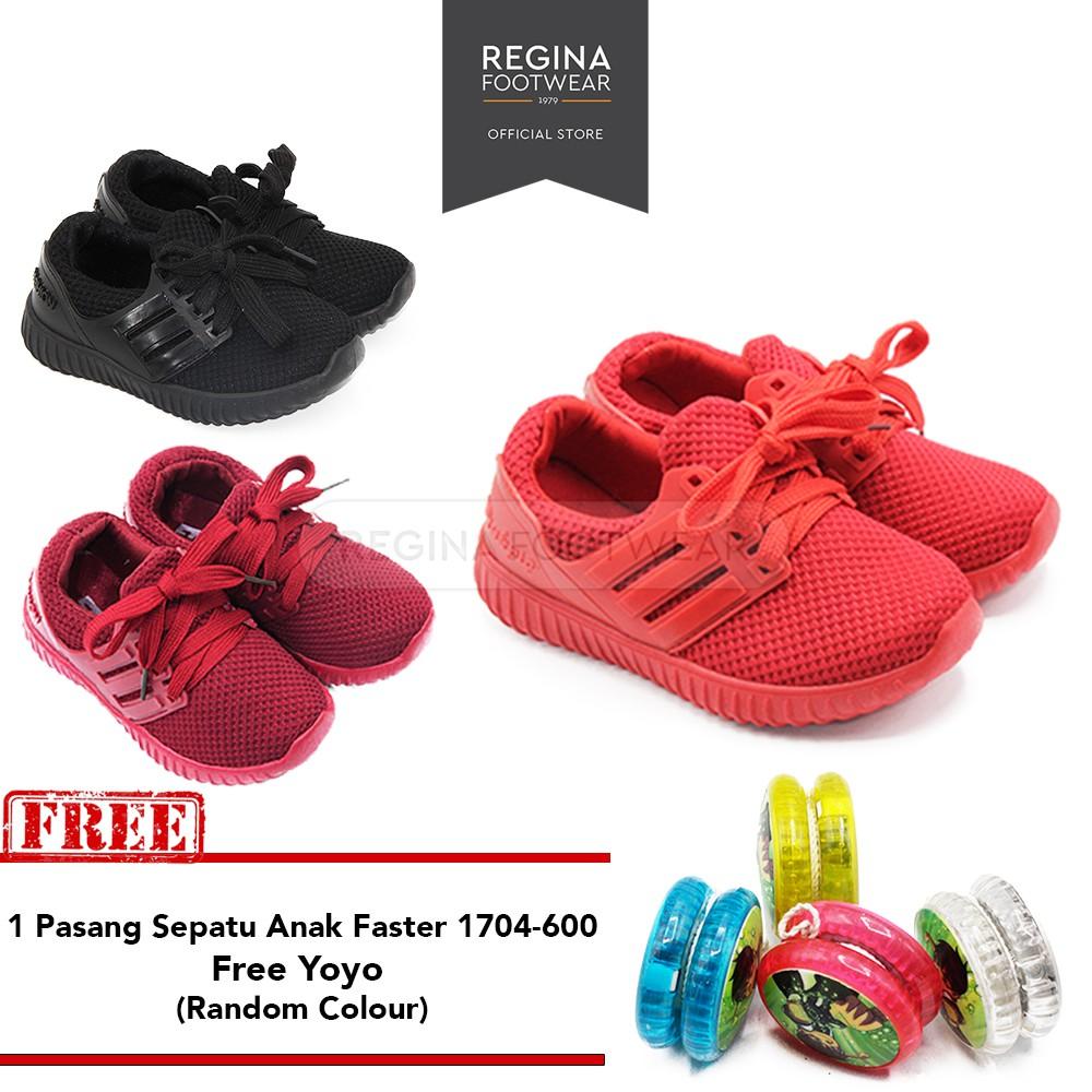 Buy 1 Get Faster Sandal Anak Formal Murah 1604 340 341 Size 29 35 Regina Footwear Jepit 1608 07a Grey Shopee Indonesia