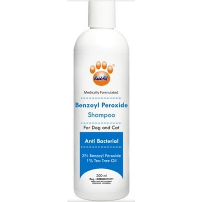 Shampoo Benzoyl Peroxide - 200ml - Shampo Anti Bakteri Anjing Kucing