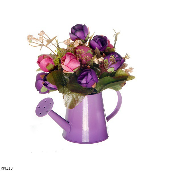 Buket Bunga Ranunculus Artificial Vas Teko RN113  961d7ab8bb