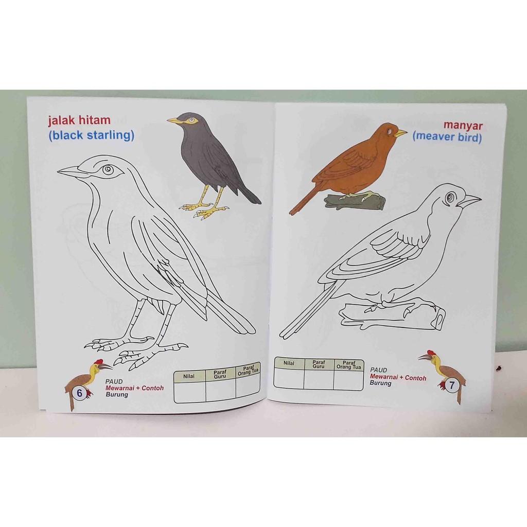Buku Mewarnai Untuk PAUD Dan TK