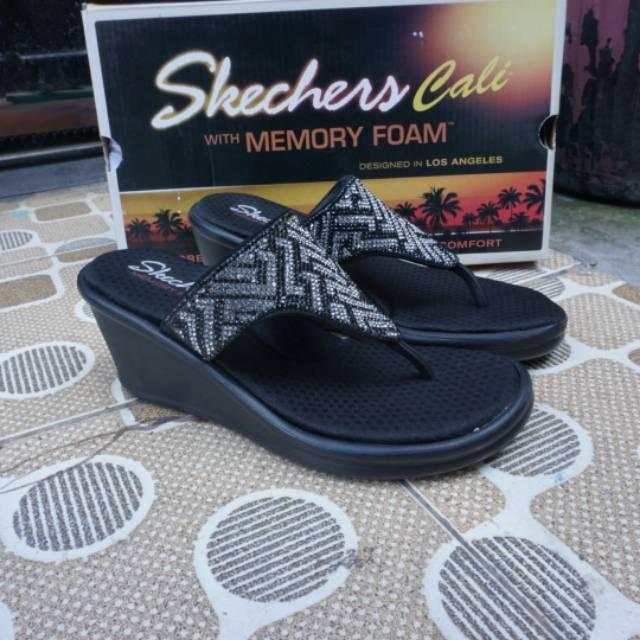 Skechers original BNIB seri VASO DE-MODA lifestyle women (49872 GRY ... e6460bfaae