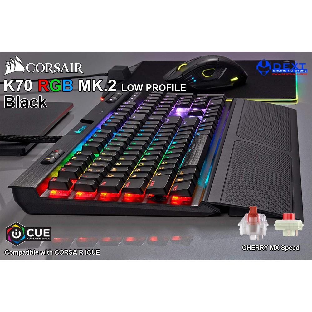 Corsair K70 RGB MK 2 Low Profile (Cherry MX Speed, RGB Backlight)