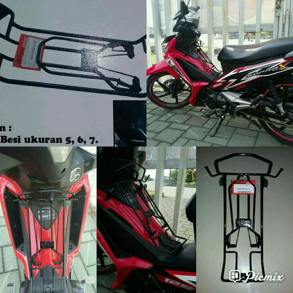 Box Bagasi Tengah Motor Jupiter Vega Shopee Indonesia Tgp Aksesoris Honda Supra X 125 New Hitam