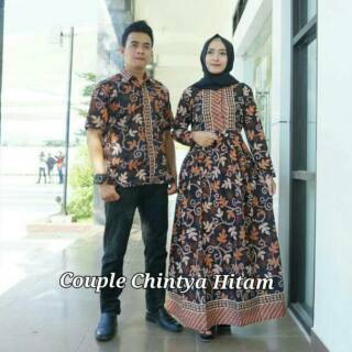 couple batik pekalongan sarimbit gamis kemeja Batik Pasangan Batik Famili  846381df34