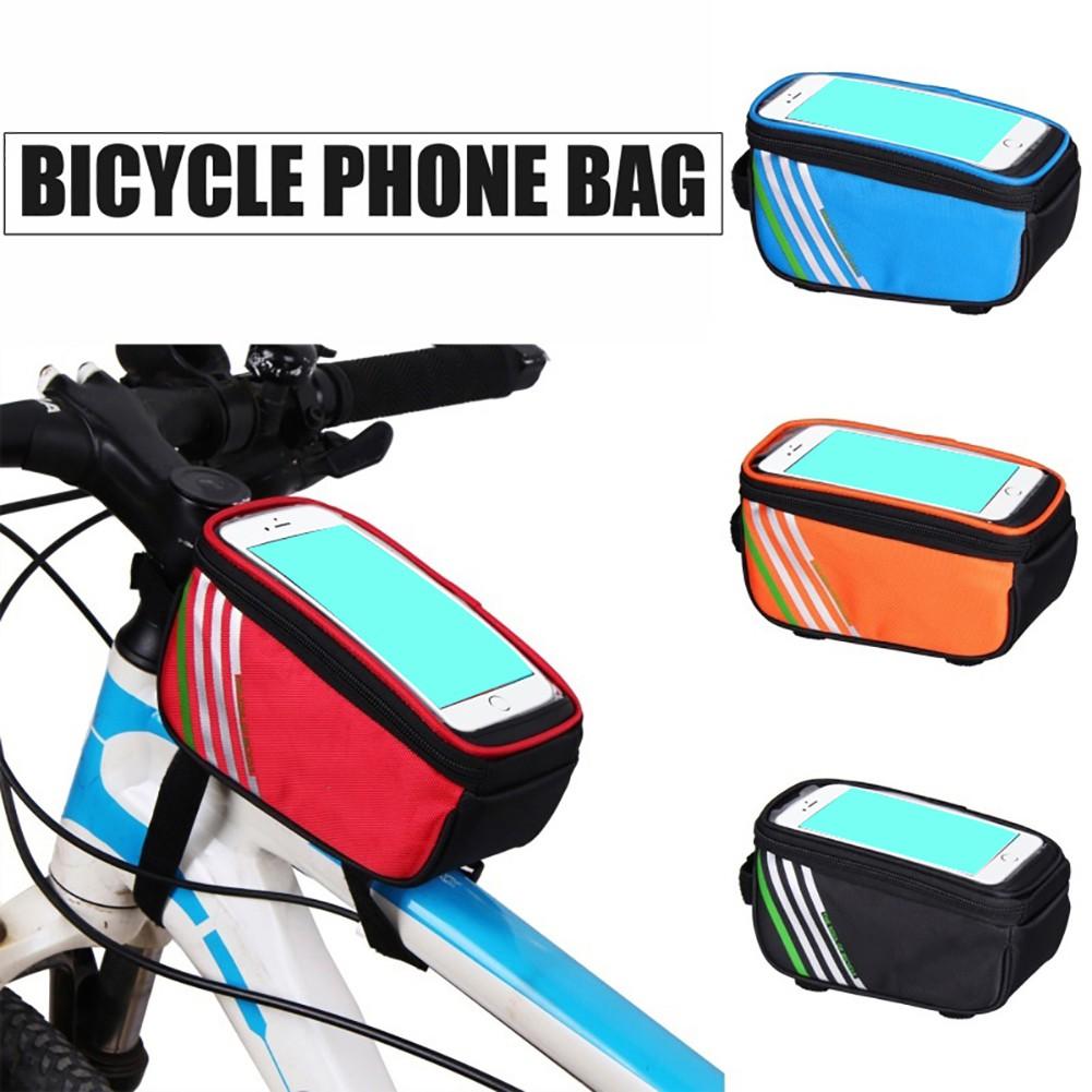 Tas Penyimpanan Anti Air Untuk Belakang Sepeda Shopee Indonesia Roswheel Bike Waterproof Bag With Smartphone
