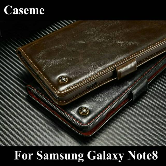 CASEME Samsung Galaxy NOTE 8 NOTE8 Wallet Leather Flip Cover Case Casing