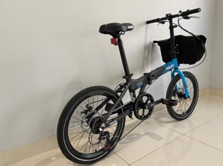 Sepeda Lipat Folding Bike Police Texas 20 Alloy NEW DESIGN