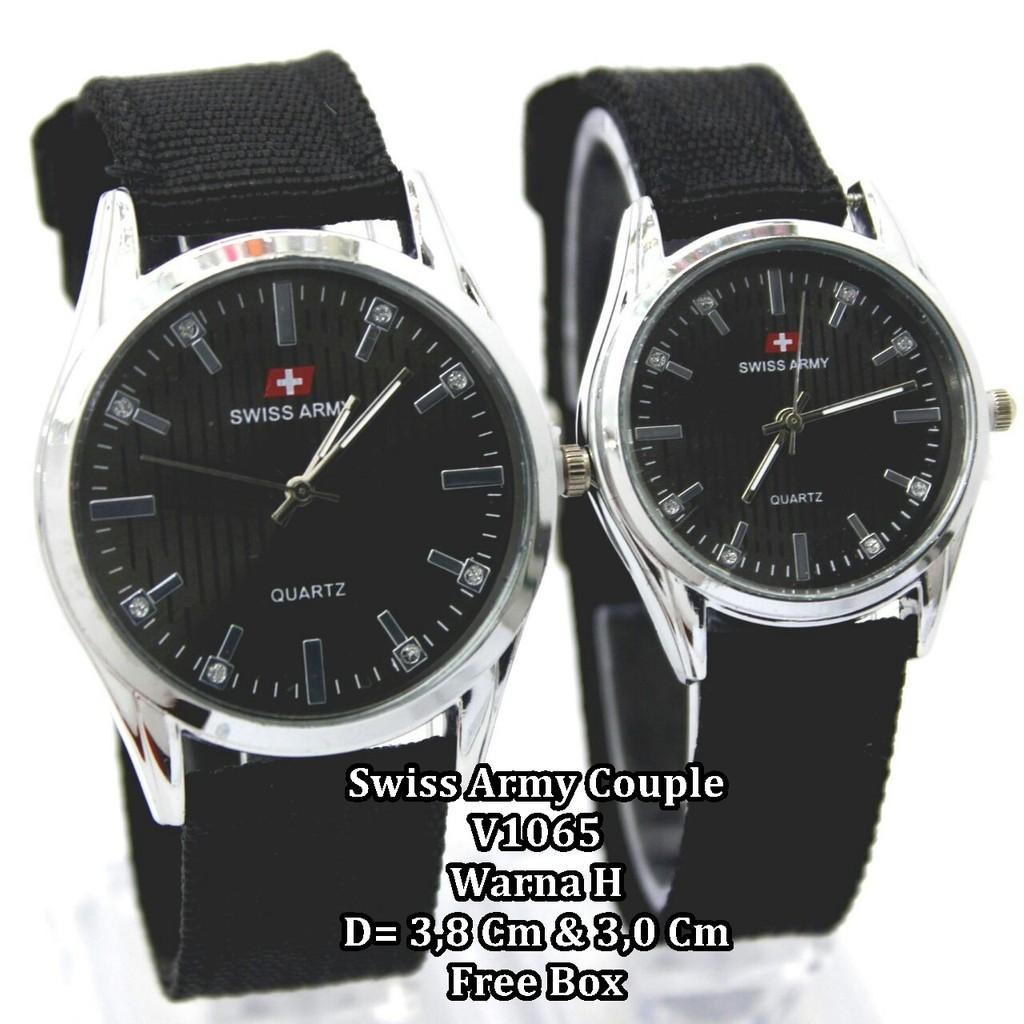 Jam Tangan Pria Wanita Pasangan Couple Montblanc Tera Warna Lengkap Swiss  Army Original High Quality Dan cd606c3c9c