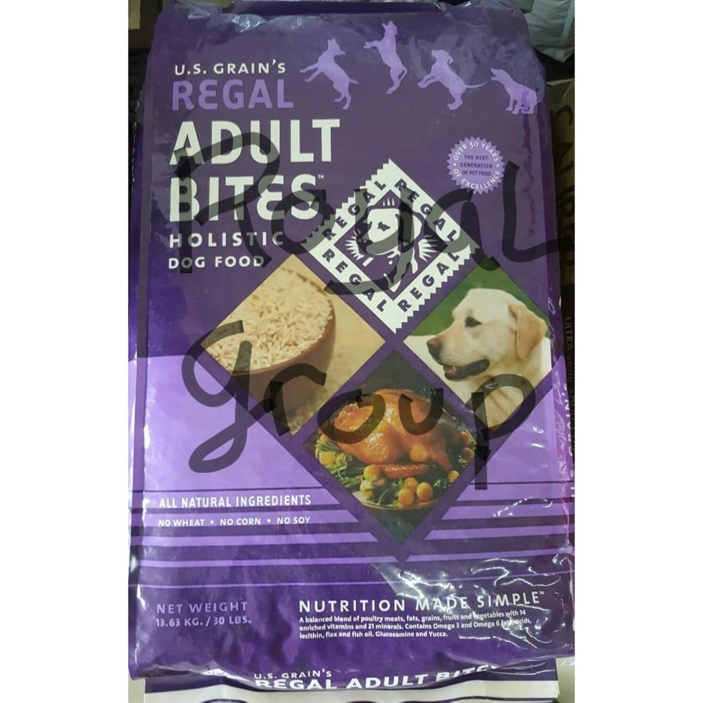 Regal Adult Turkey Bites Repack 1kg Makanan Anjing Dog Food Holistic Bolt Beef Flavor Jenis Kering Rasa Sapi Shopee Indonesia