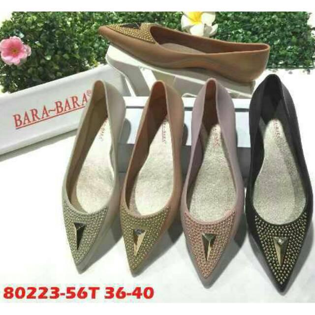 Jelly Shoes Flat Beludru / Sepatu murah / Sepatu cantik9   Shopee Indonesia