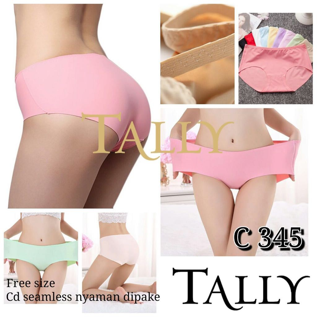 Pakaian Dalam Wanita  Celana Dalam Model Brief Panties Renda Seamless  1a1a29df27