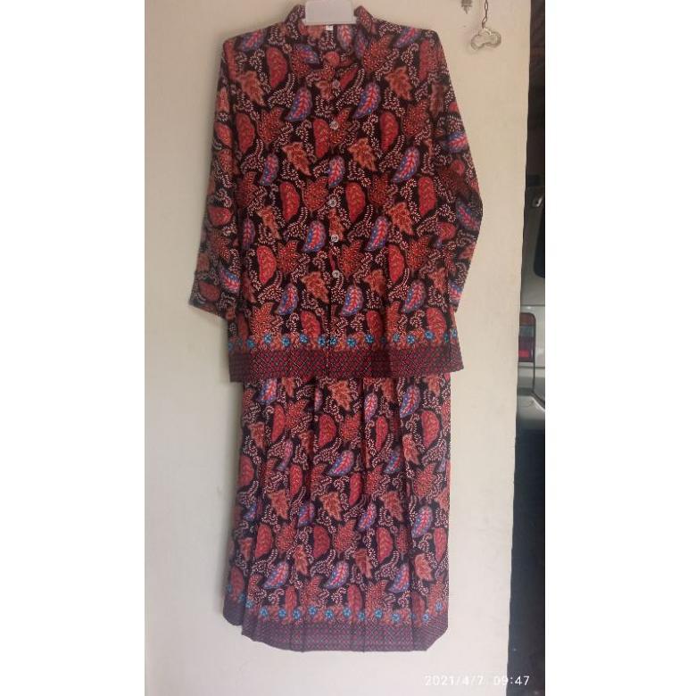 Setelan batik / baju nenek (ART. 6306)