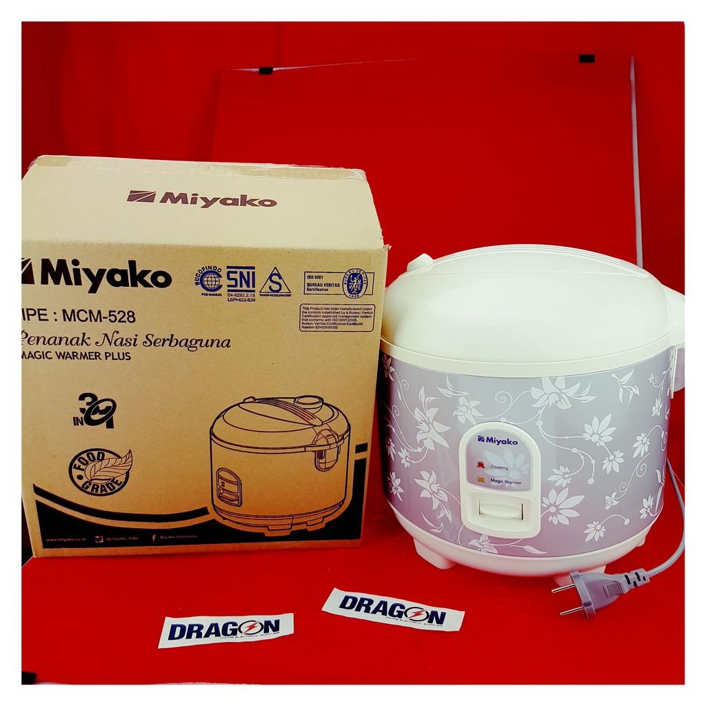 Rice Cooker Miyako Mcm 609 063 Liter Shopee Indonesia 606 A