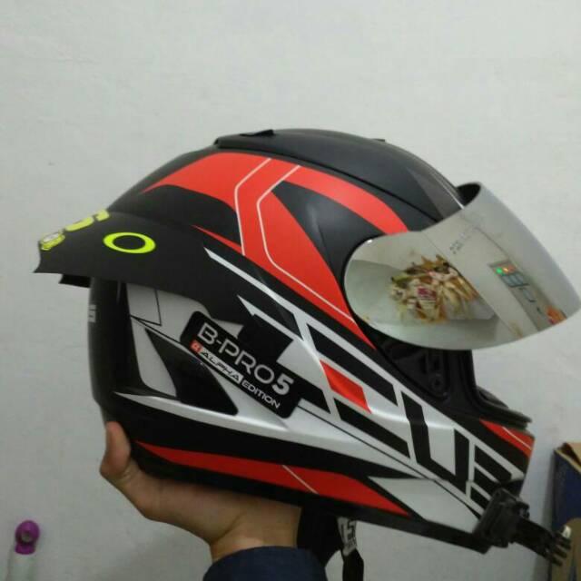 Spoiler Helm Zeus Fullface Atau Wing Helm Zeus Shopee Indonesia