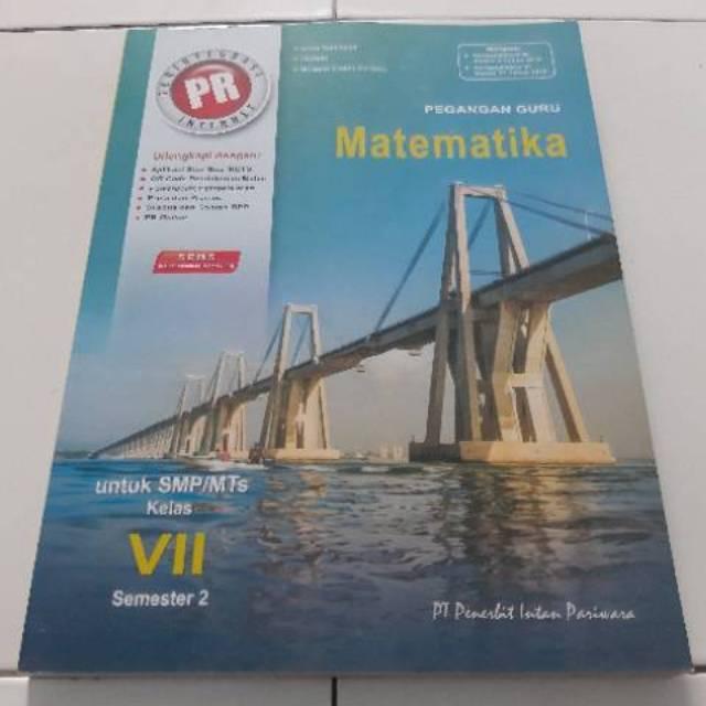Buku Kunci Jawaban Pr Matematika Kelas 7 Semester 2 Shopee Indonesia